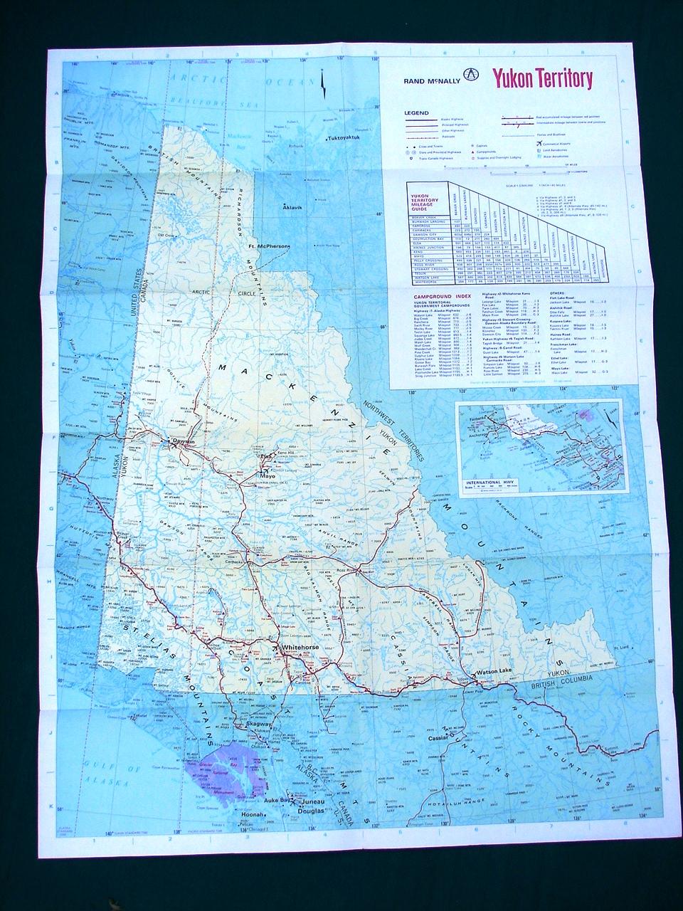 捎东西首页 古董 地图,地图集,地球仪 加拿大 1900-至今  yukon