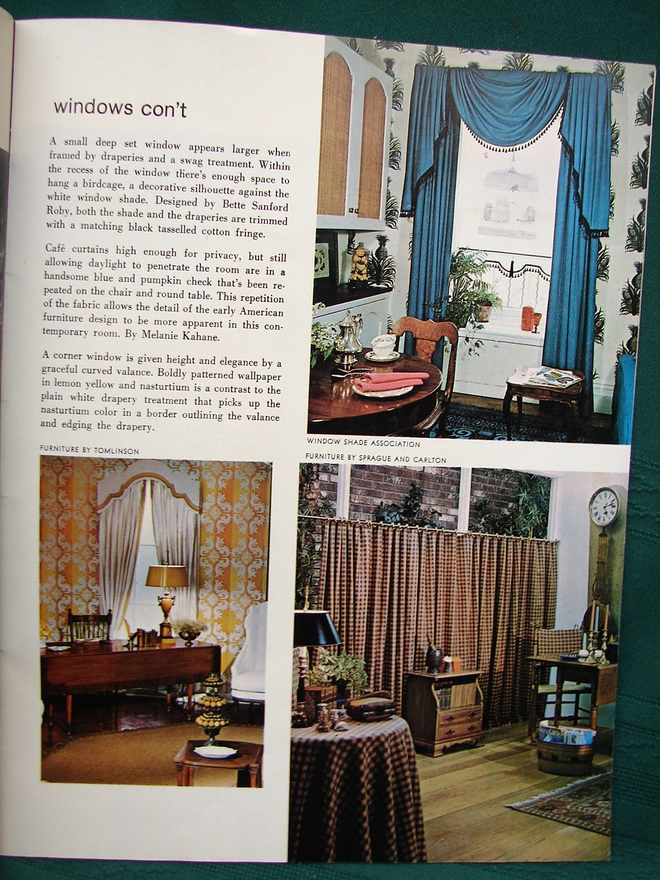 Home Decorating Ideas - 1963 Interior Design Book