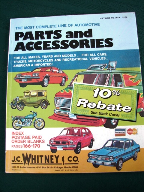 JC Whitney Official Online Catalog features Everything Automotive plus Free Shipping! Order online today!