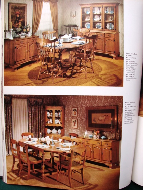 """Ethan Allen Furniture 1960s product catalog """"Ethan"""